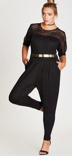 931a509ebf3 Plus Size Jumpsuit Outfit - Plus Size Outfit Idea - Plus Size Fashion for  Women - alexawebb.com