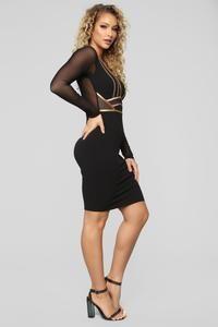 Photo of Saturday Night Fever Dress – Black