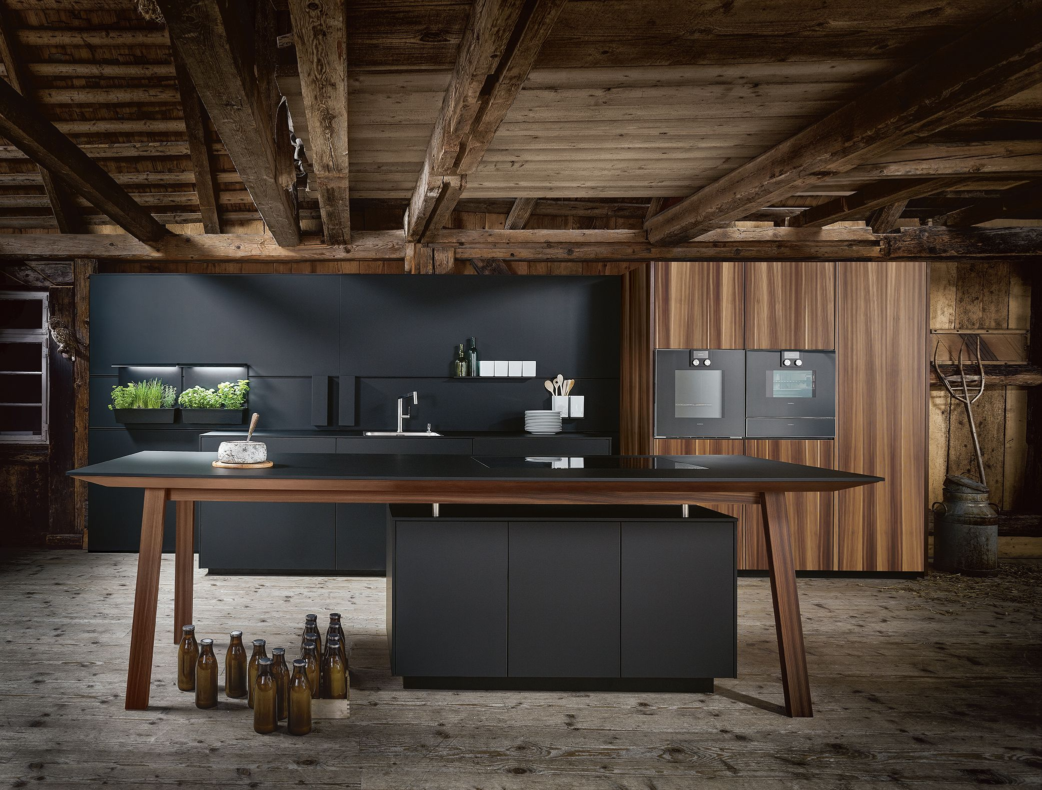 Modern-Woodgrain-Kitchen-Ideas. Next 16 German Kitchens