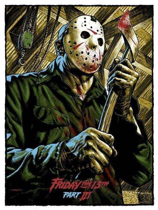 Galeria Viernes 13 Posters De La Saga 58 Personajes De Terror Peliculas De Terror Antiguas Buenas Peliculas De Terror