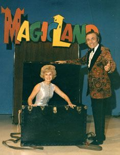 Dick Williams' Magicland. Sunday mornings at 10am. Thankfully, church started at 10:50.
