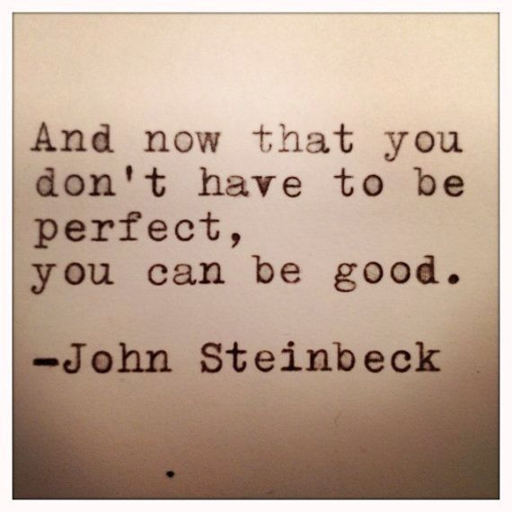 you can be good