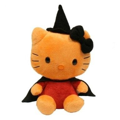 Ty Beanie Baby Hello Kitty Witch