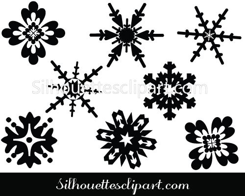 snowflake vector graphics