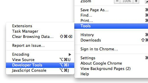 Web Design: Getting Started With Chrome Developer Tools