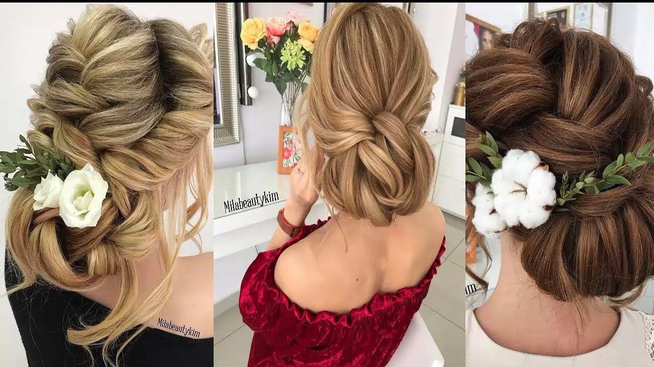 Wedding Hair Styles Wedding Hairstyles Tutorials Compilation  Bridal Hair Tutorial