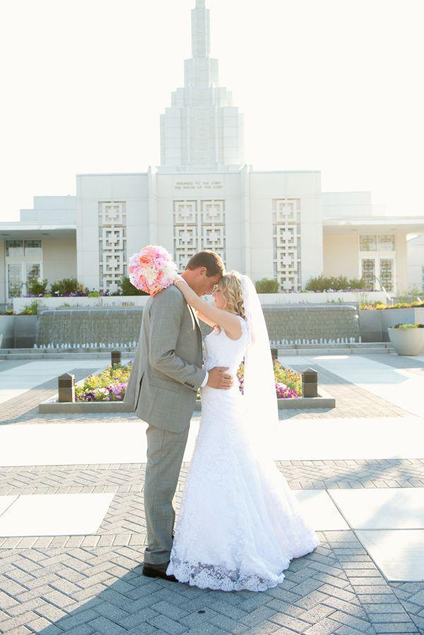 Idaho Falls LDS Temple Wedding LDStemples MormonTemples