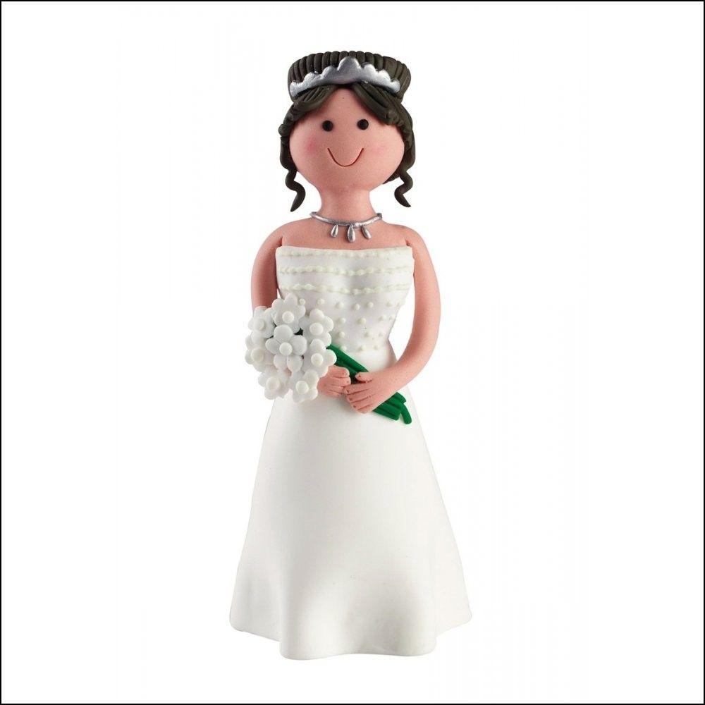 Claydough Wedding Cake toppers | Wedding Ideas | Pinterest | Wedding ...