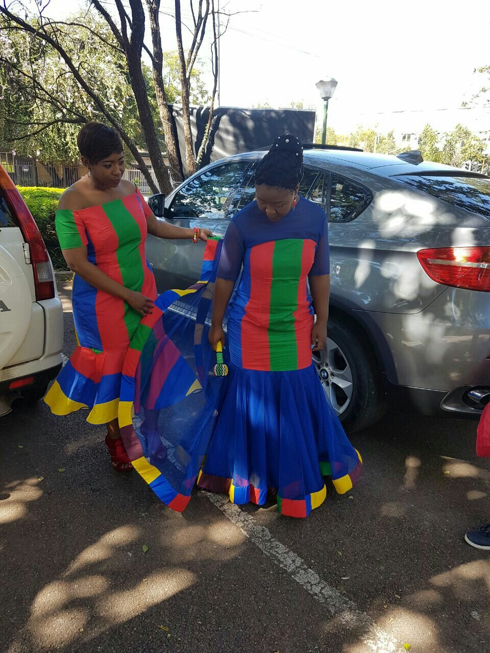 Lodi and Cash wedding South african traditional dresses