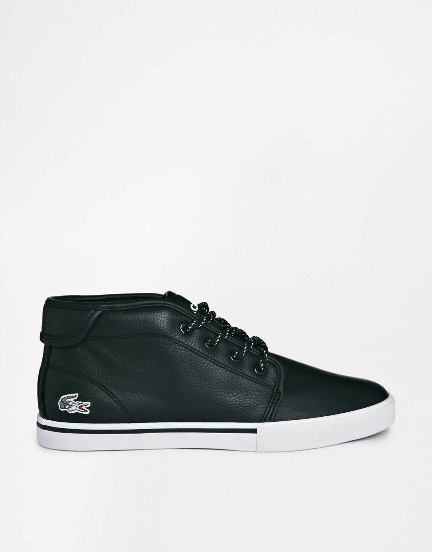 Lacoste - Ampthill | Black leather