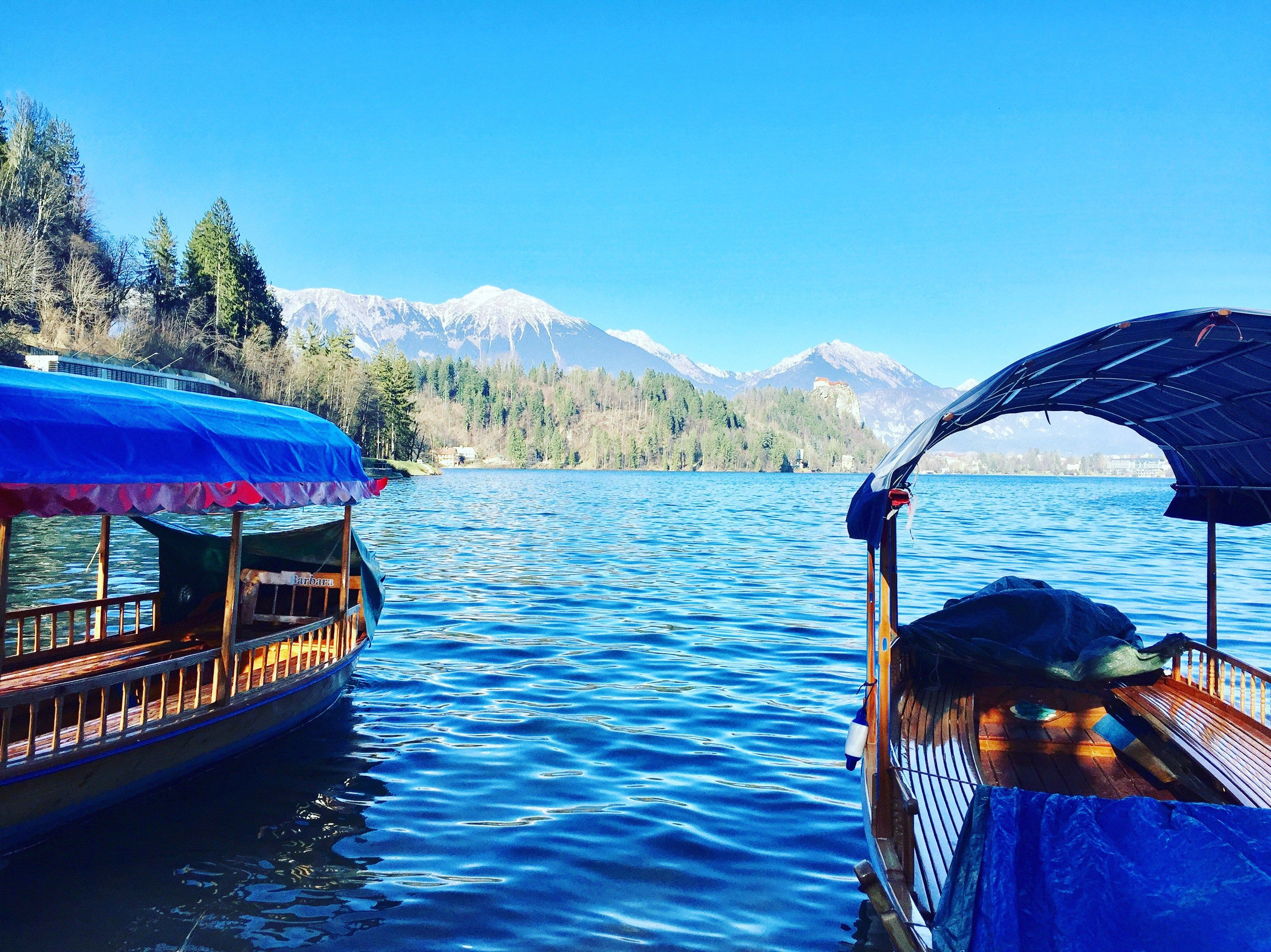 Lake Bled Slovenia from post 6 Days and 6 Countries with 10 Kids: A Round-Up Of Our Travels This Week | Larger Family Life