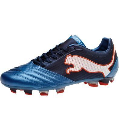 b5e64ddb3a12 PowerCat 2.12 FG Firm Ground Soccer Cleats, metallic blue-black iris-white-
