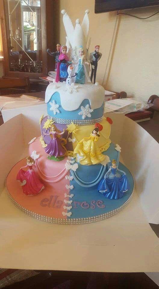 Disney Princesses cake Pinteres
