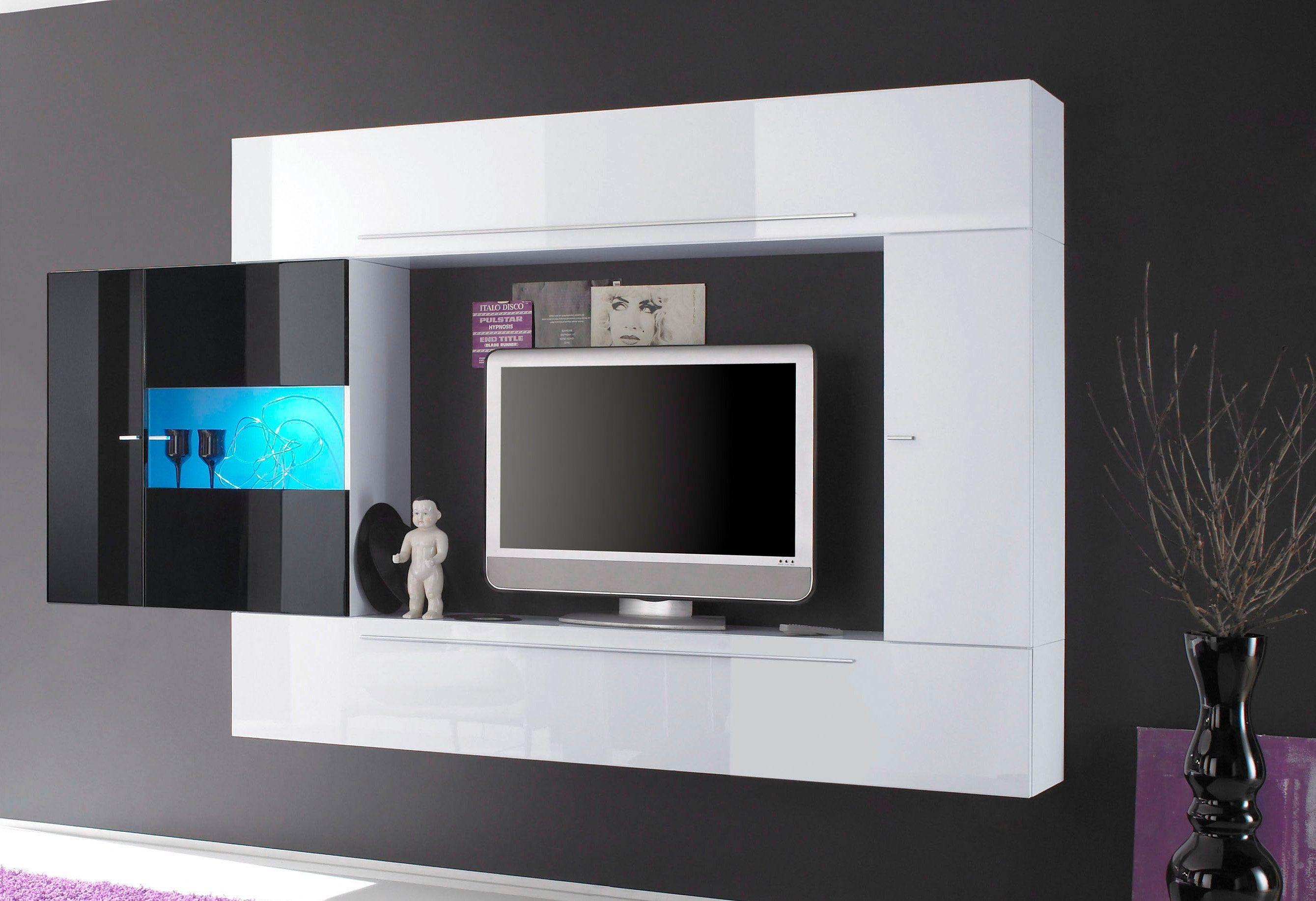 Wohnzimmer Hochglanz ~ Lc tv wand weiß hochglanz jetzt bestellen unter: https: moebel