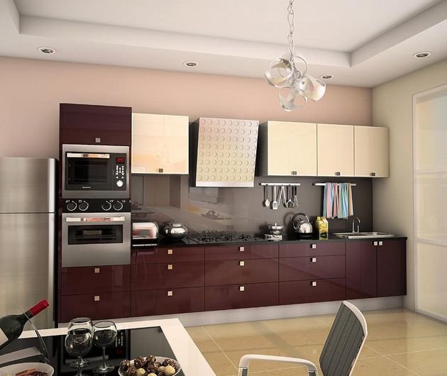 Pin On A Modular Kitchen: Indian Kitchens, Modular Kitchens
