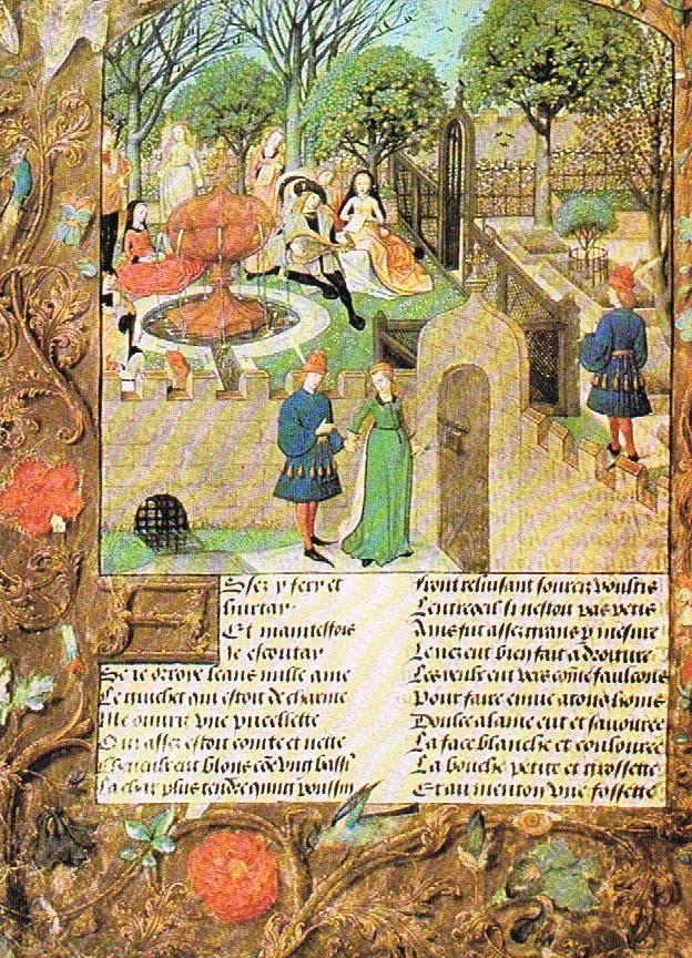 Loyola University Medieval Studies Center Internship: The Last Bits on Medieval Gardens