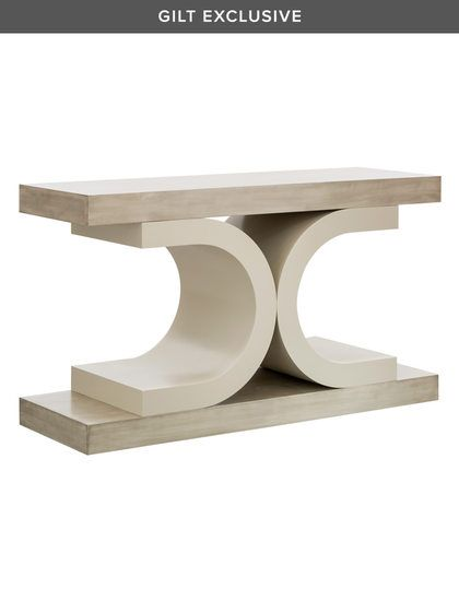 Florence Console Table by Shine by S.H.O Studio at Gilt