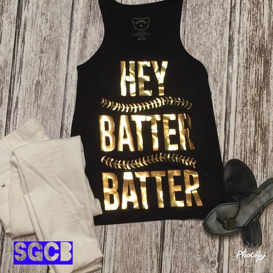 """Hey Batter"" Tank"