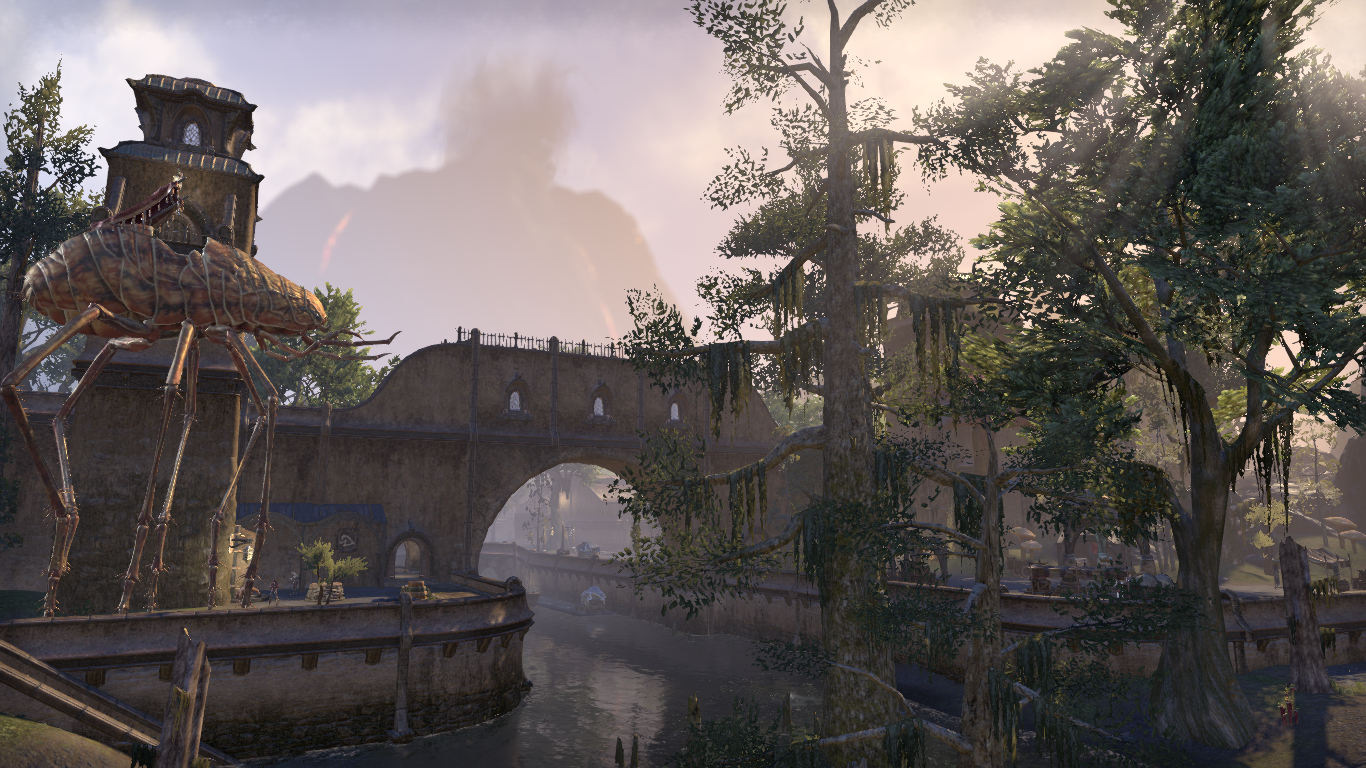 Balmora in the afternoon  Screenshot by Coco Michelle #ESO