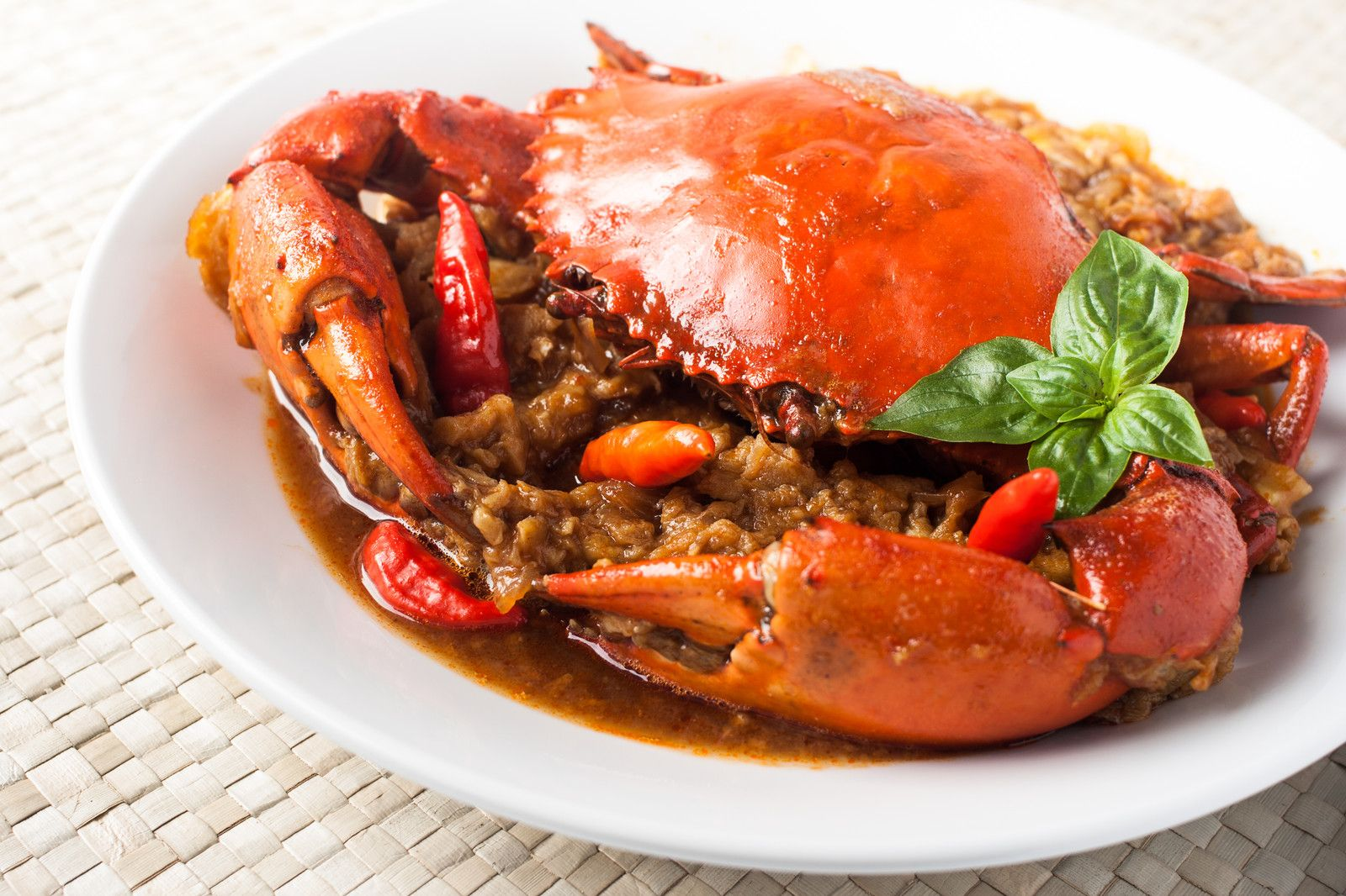 Chili Crab Resep Kepiting Resep Makanan Resep Masakan