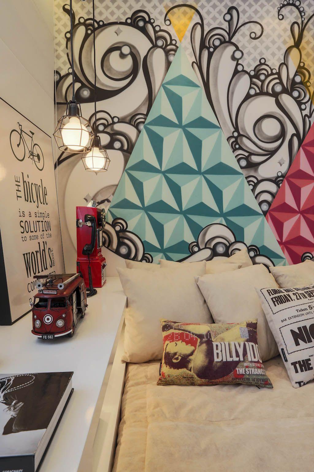 Pin by maia aloha on room stuff apartment wall art - Painting graffiti on bedroom walls ...