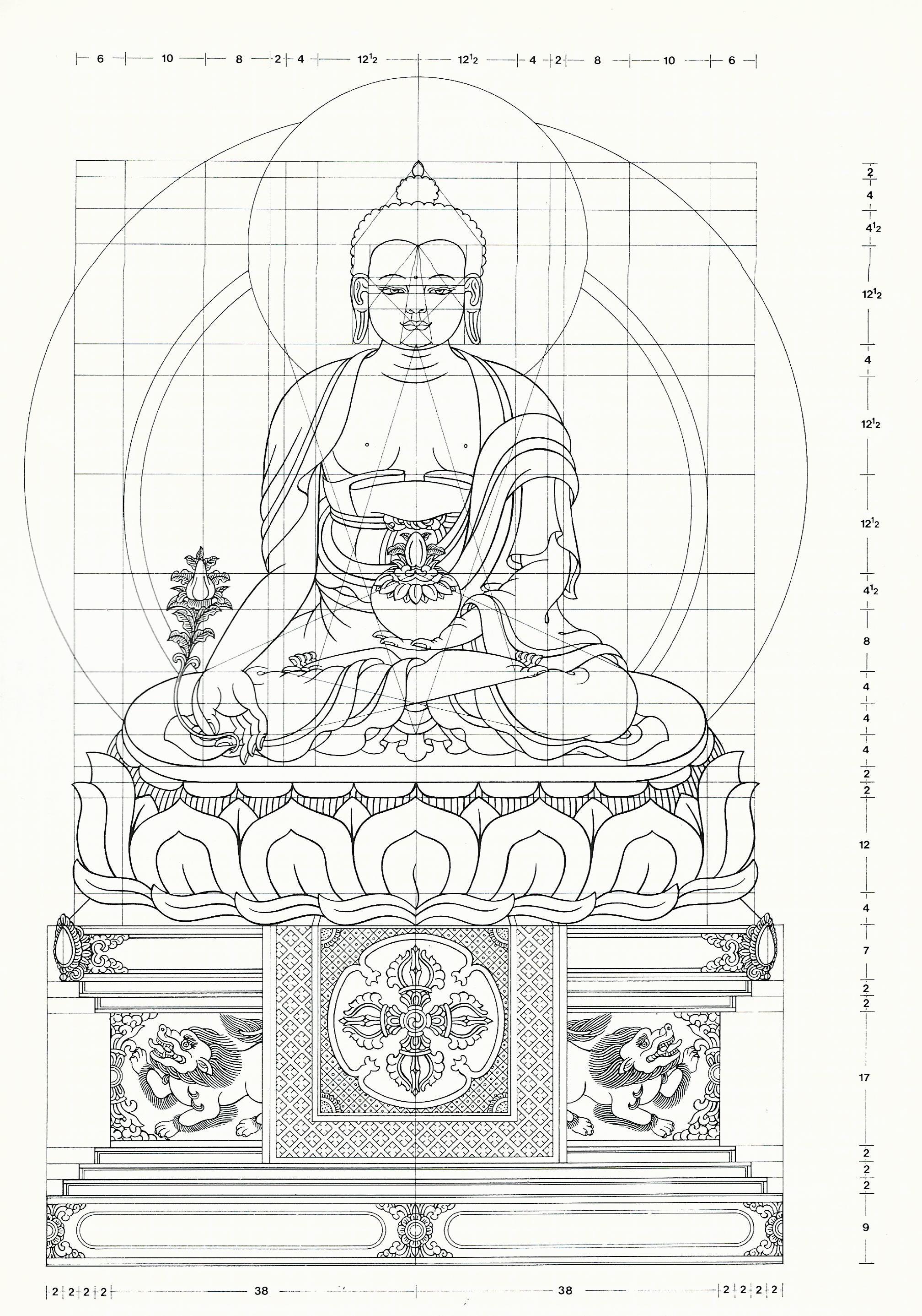 Thangka art | Tibetan art in 2019 | Tibetan art, Buddhist