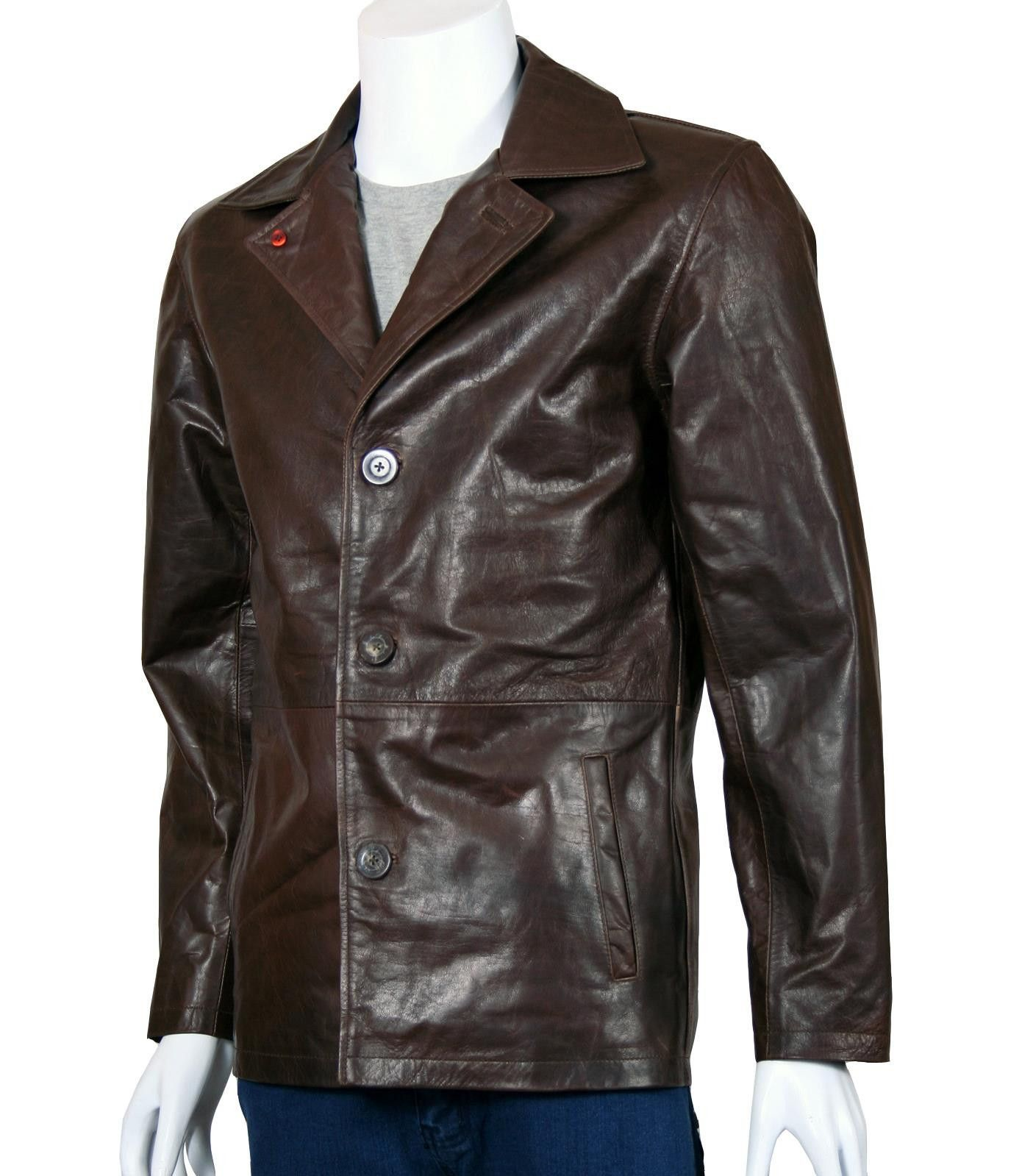 Dean Winchester Leather Jacket Leather Jacket Black Leather Blazer Leather Jacket Men [ 1599 x 1390 Pixel ]