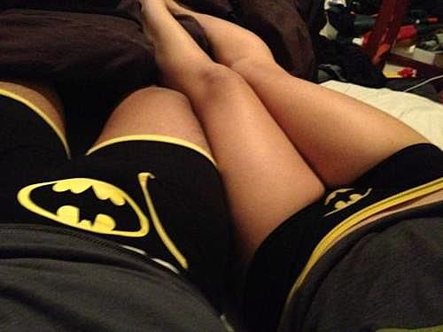 One day I'll date a guy cool enough to hang out with our bat pants out