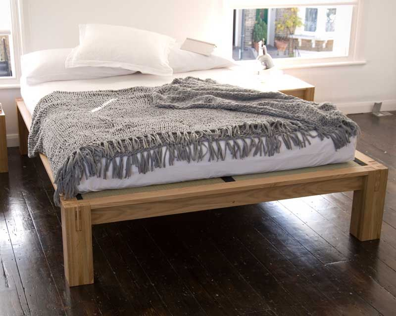 Oak Kingsize Bed From The Futon Company