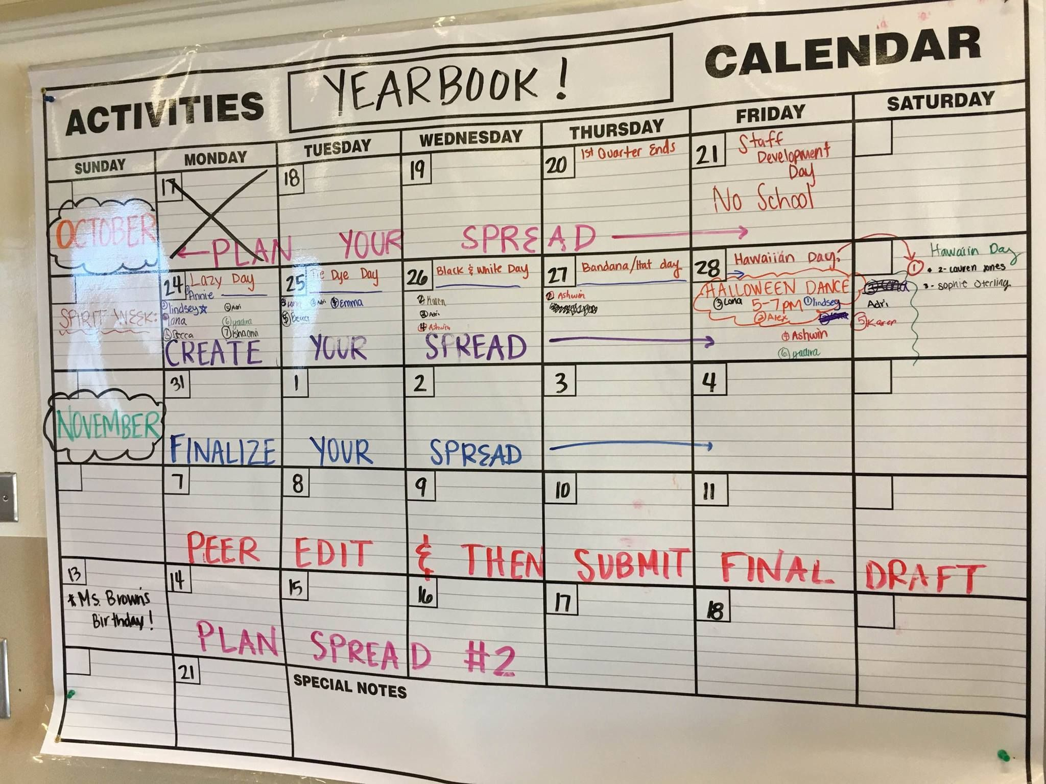 Social media posts creative classroom pinterest yearbooks and