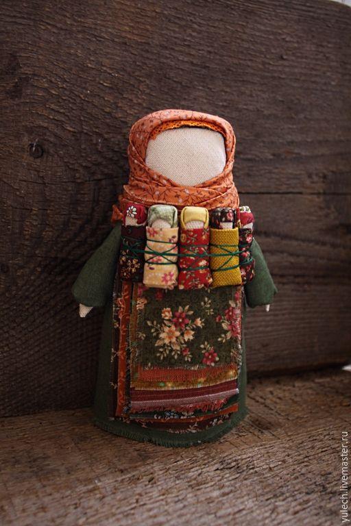 """Купить Куколка-мамушка народная русская """"Осенний урожай"""" - разноцветный, семья, народная кукла, мама"""