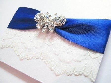 Sample Of Wedding Invite Blue Color Royal Schemes