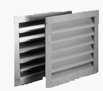 Vent Cap To Replace A C In Studio Aluminum Wall Louver Vent Wall Vents