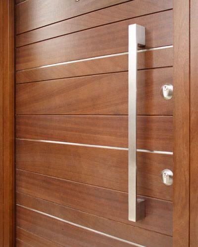 Door pull handle metal option 10 urban front ltd curb appeal pinterest doors door pulls for Contemporary door hardware exterior