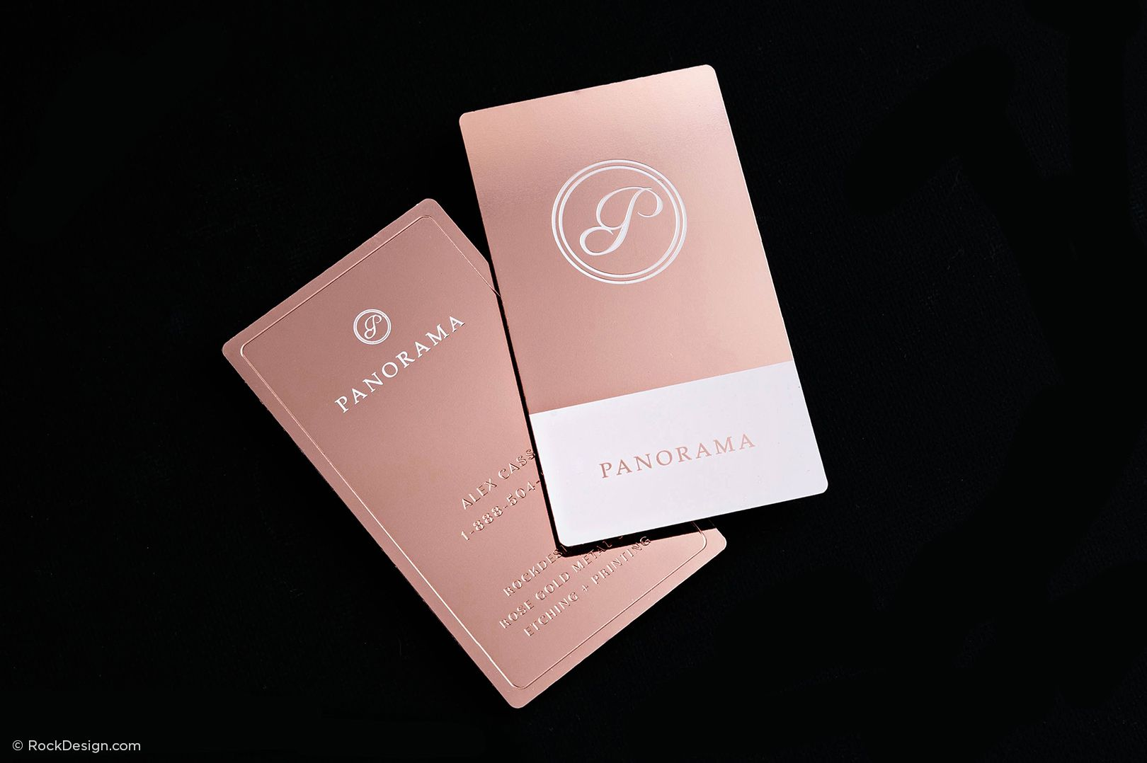 Luxury rose gold metal business card panorama rockdesign luxury luxury rose gold metal business card panorama rockdesign luxury business card printing colourmoves
