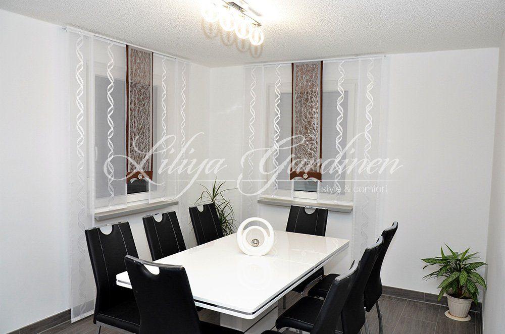 Moderne Küchengardinen bestellen Individuelle Fensterdeko - fenster gardinen küche