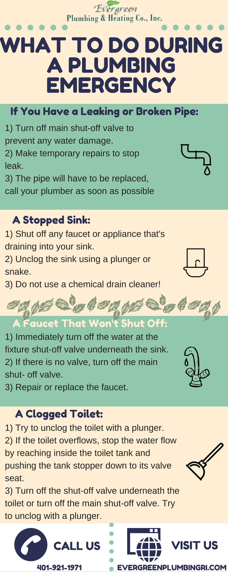 Uh Oh Another Plumbing Emergency Check Out Some Tips On What To