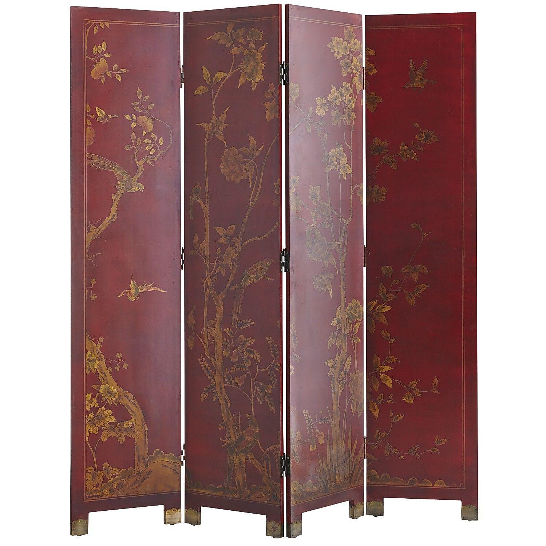 Taochi Room Divider - Red | Pier 1 Imports - Taochi Room Divider - Red Pier 1 Imports Screen Panels