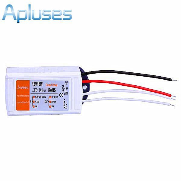 12 V 1.5A 18 W fonte de Alimentação AC/DC interruptor adaptador de transformadores para LED Strip RGB lâmpada do teto motorista fonte de Alimentação 90 V-220 V