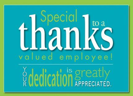 Thank You Quotes For Employees By Quotesgram Employee