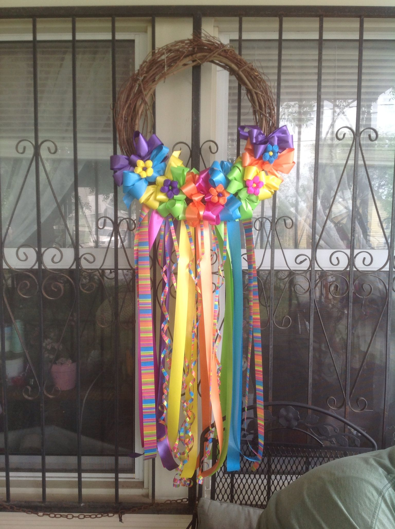 Fiesta Wreath 2013 Homemade Crafts Amp Things I Have Made