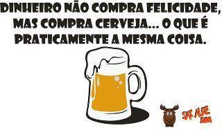 Sobre cerveja.