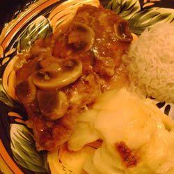 Mushroom Chicken Piccata Allrecipes.com
