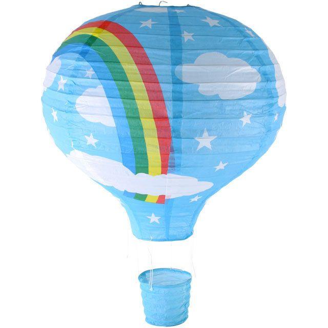Blue Hot Air Balloon Lampshade
