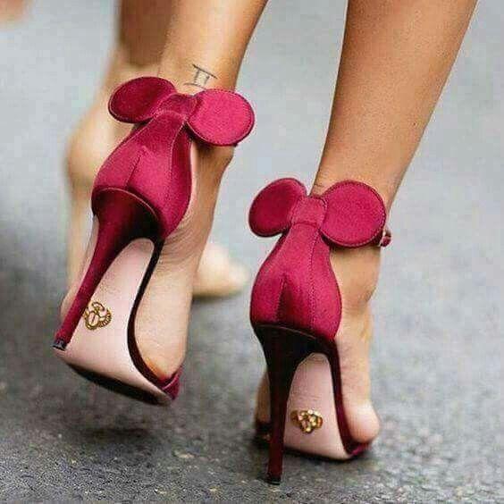 Minnie Disney Designer Mouse SchuheExtravagante HeelsMode 8OXnP0wk