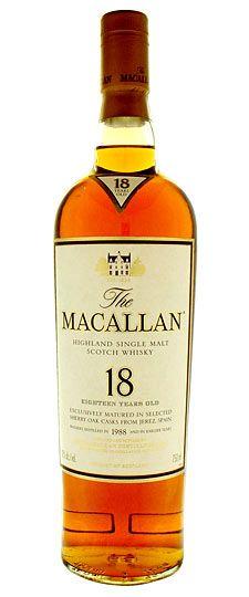 Macallan 18 Anos 750ml Unico Whisky De Malta Whisky De Malta