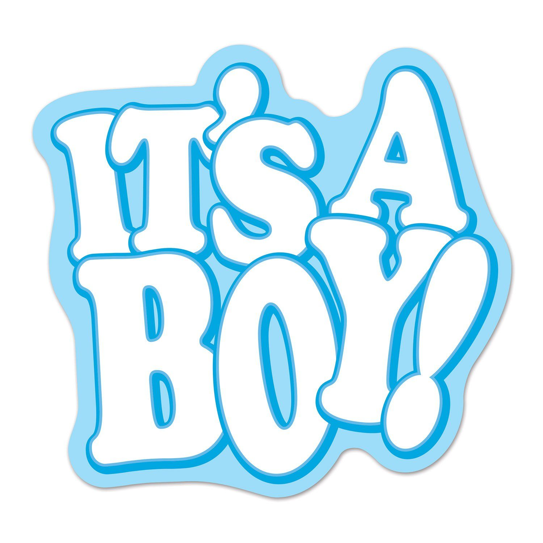 It S A Boy Cutout Case Of 12 Baby Boy Scrapbook Baby Shower Clipart Baby Scrapbook