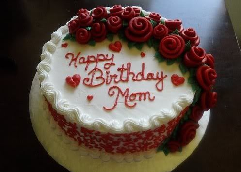 Tremendous Birthday Cake For Mom With Images Birthday Cake For Mom Mom Personalised Birthday Cards Veneteletsinfo