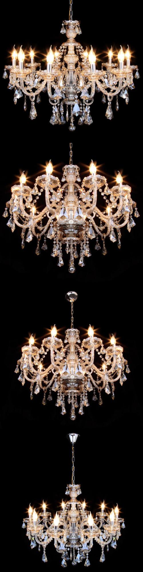 Lamps and lighting elegant modern ceiling light crystal chandelier