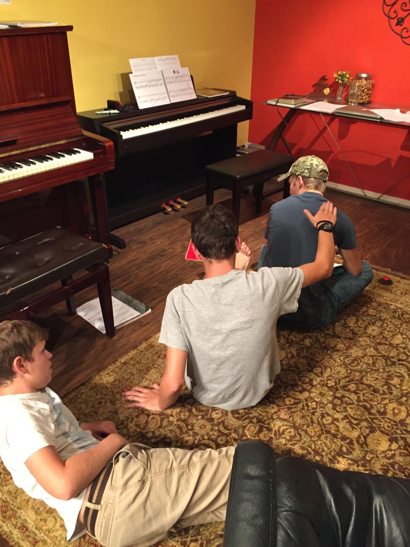 A Fun Group Piano Class Rhythm Game Piano classes